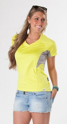 WOMEN'S UV SHIELD SHORT SLEEVE
